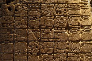 Jürg Widmer Probst - facts about the Mayan civilisation - mayan writing 3